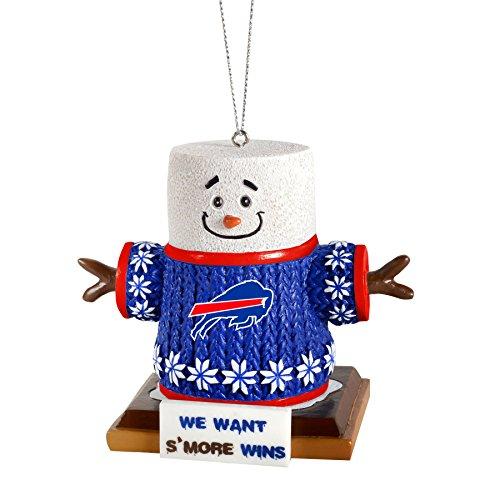 2015 NFL Football Team Logo Smores Holiday Tree Ornament – Pick Team (Buffalo Bills)