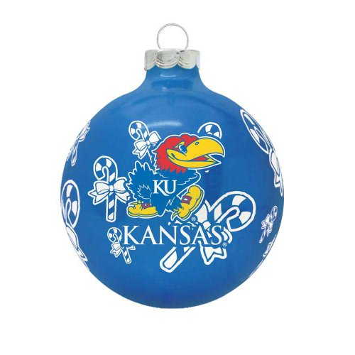 NCAA Kansas Jayhawks Traditional 2 5/8″ Ornament
