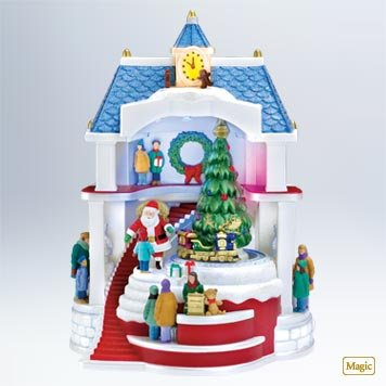 Hallmark Santa Comes to Town 2011 Ornament