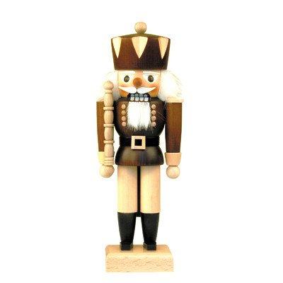 "32-620 – Christian Ulbricht Mini Nutcracker – King – 10.5″""H x 4″""W x 3″""D"