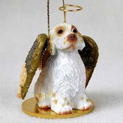 Christmas Ornament: Clumber Spaniel