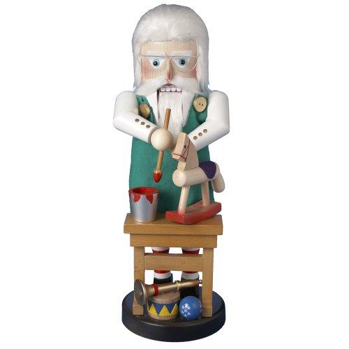 Kurt Adler 17-inch North Pole Santa Toymaker Nutcracker