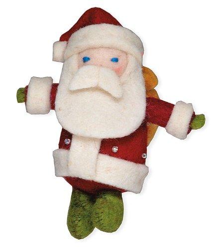 Wool Santa Ornament