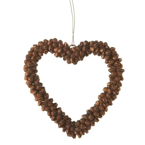 Midwest CBK Rusted Heart Christmas Ornament