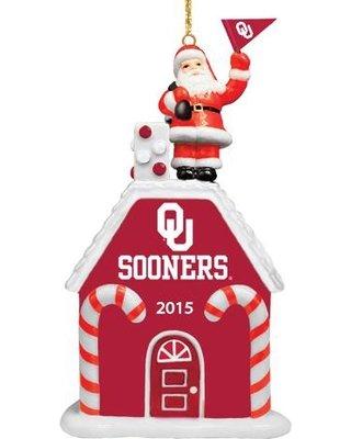 The 2015 Oklahoma Sooners Ornament