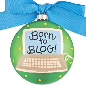 Coton Colors Born to Blog * Glass Holiday Gift PO-BLOG-NOMSG