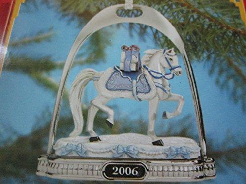 Holiday Breyer Horse Ornament Snow Princess