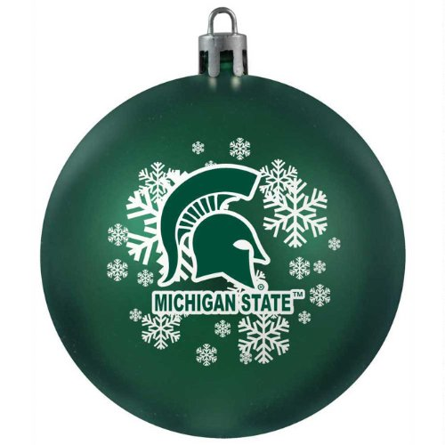 NCAA Michigan State Spartans Shatterproof Ball Ornament
