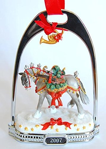 Breyer Horse Holiday Wintersong Stirrup Ornament 2007