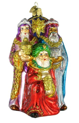 Old World Christmas Three Wise Men Ornament