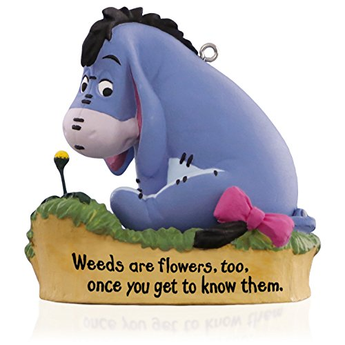 Hallmark Keepsake Ornament: Disney Winnie the Pooh Collection A Little Perspective Eeyore