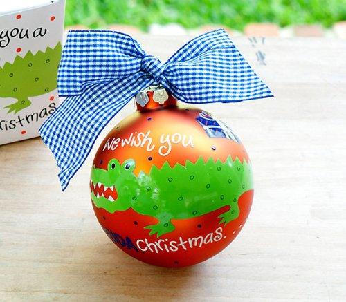 U of Florida We Wish Ornament..