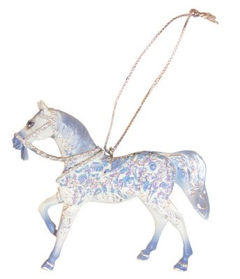 Trail PAINTED PONIES Crystal Pony Christmas ORNAMENT