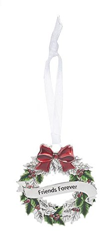 GANZ Wreath Ornament – Friends Forever – Ornament Christmas Sentimental Gift EX26543