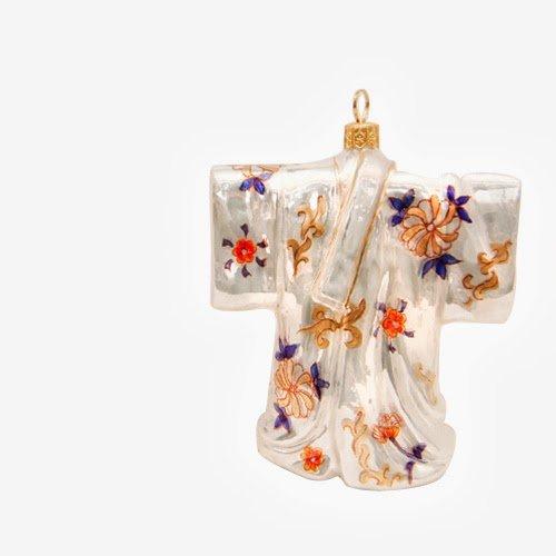 Ornaments to Remember: KIMONO Christmas Ornament (Imari)