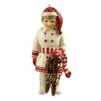 Snowshoe Sean Ornament