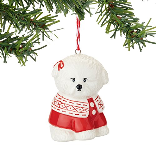 Department 56 Fetch The Spirit Bichon Ornament