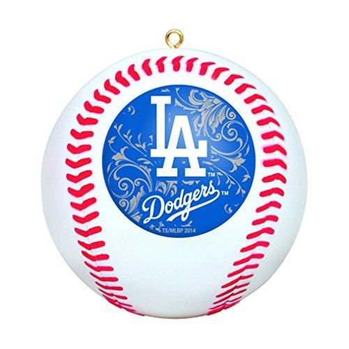 MLB Los Angeles Dodgers Mini Replica Baseball Ornament