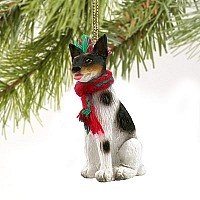 Rat Terrier Miniature Dog Ornament