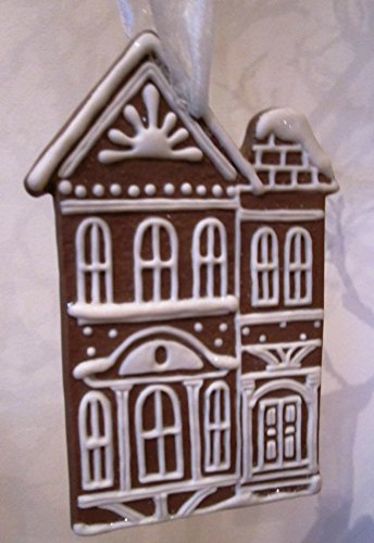 Midwest of Cannon Falls Baker Street Brownstone Christmas Ornament