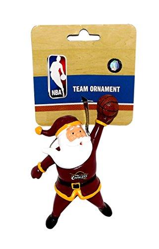 Cleveland Cavaliers Action Santa Team Ornament
