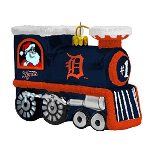 MLB Detroit Tigers Train Ornament, 3.75″, Blue