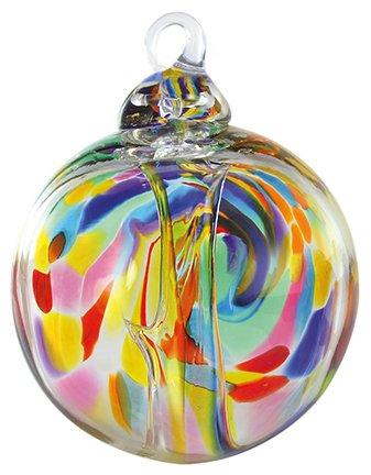 Glass Eye Studios Spirit Ball Fiesta Ornament