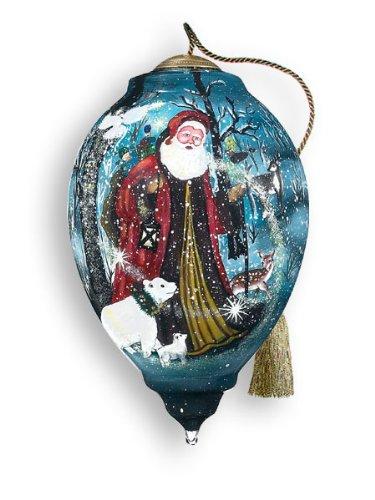 Ne'Qwa Art Christmas Past Retired – Glass Ornament Hand-Painted 364-NEQ
