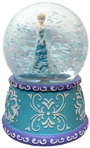 Awesome Disney Frozen Elsa Princess Musical Snomotion Water Globe