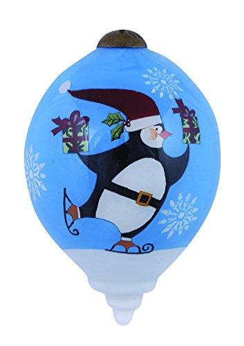 Ne'Qwa Penguin at Play Ornament