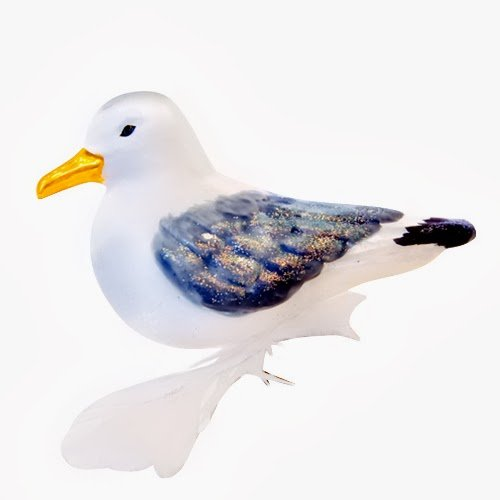 Ornaments to Remember: SEA GULL Christmas Ornament
