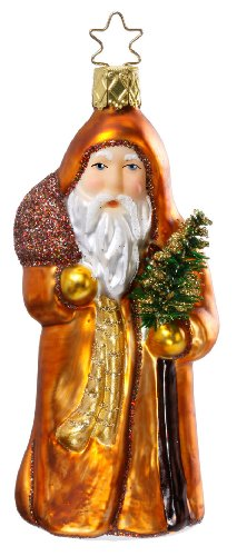 Golden Tannenbaum, #1-043-11, by Inge-Glas of Germany