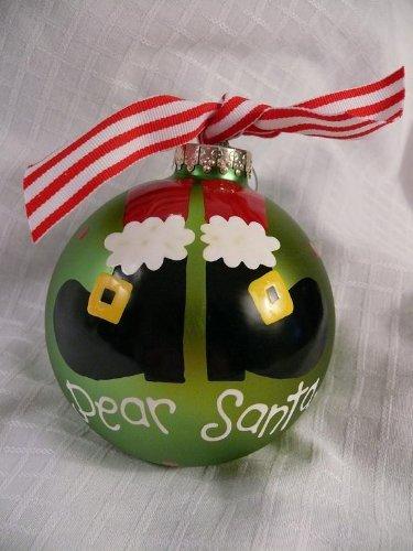 Dear Santa Holiday Ornament
