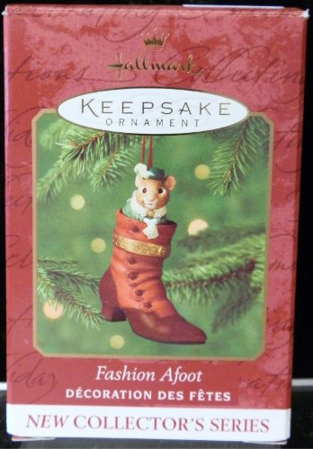 Hallmark Keepsake Ornament Fashion Afoot Collectors Series