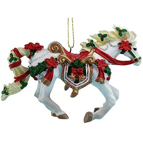 Westland Giftware Christmas Carousel Horse of A Different Color Resin Ornament