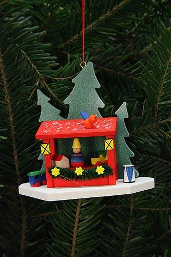 Tree ornaments Tree Ornaments Strizelmarkt Booth – 9,2×8,7cm / 4×3 inch – Christian Ulbricht