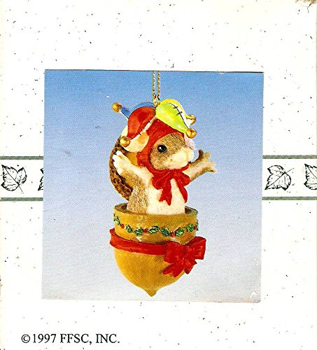 Charming Tails McKenzie Jack-in-the-Box Christmas Ornament