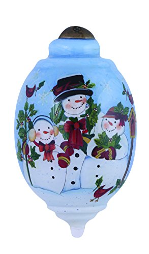 Ne'Qwa Snow Family Ornament