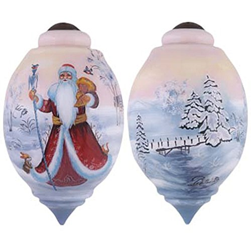 Ne'Qwa Santa's Woodland Winter Ornament