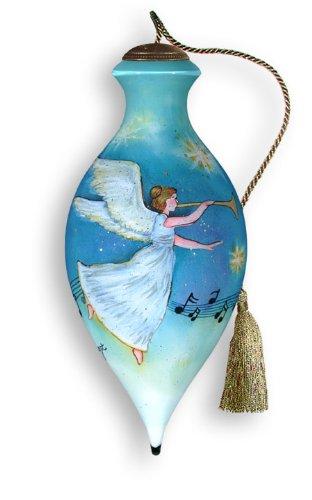 Ne'Qwa Art Heavenly Music Retired – Glass Ornament Hand-Painted 651-NEQ