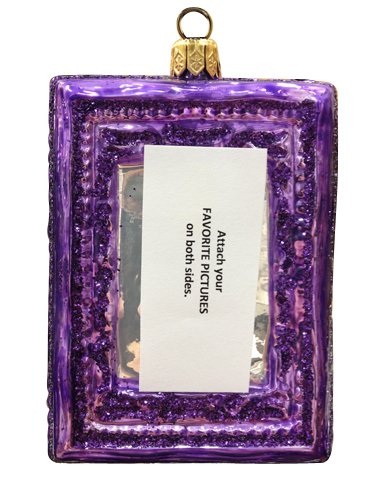 Ornaments to Remember: PICTURE FRAME Christmas Ornament (Square)