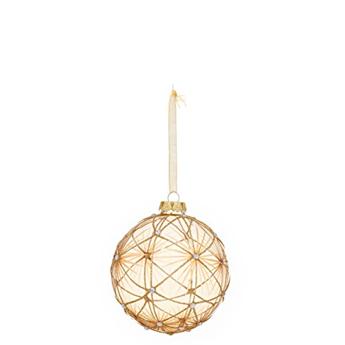 Glass Pattern Ball Ornament (4-Pack)
