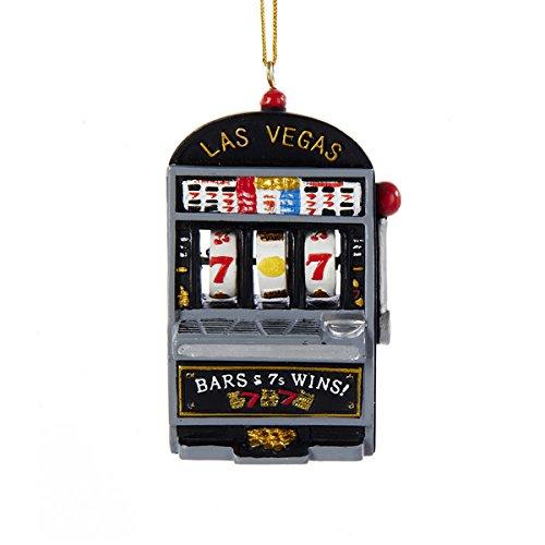 Kurt Adler Casino Slot Machine Ornament J7724