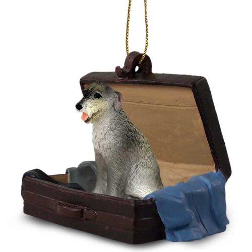 Irish Wolfhound Traveling Companion Ornament