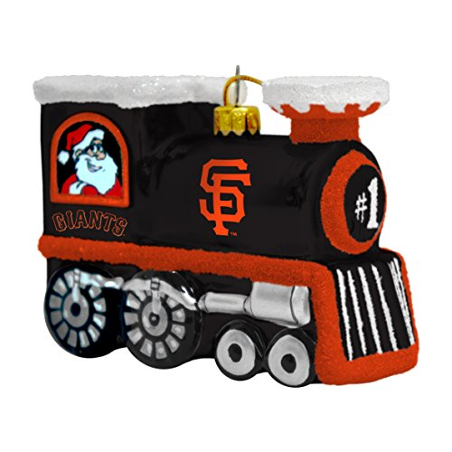 MLB San Francisco Giants Train Ornament, 3.75″, Black