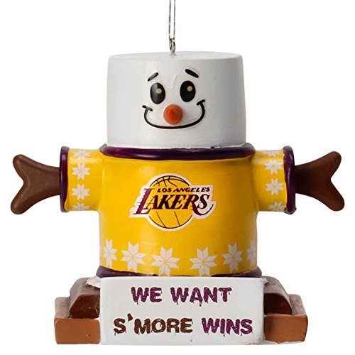 Los Angeles Lakers NBA S'mores Holiday Christmas Ornament