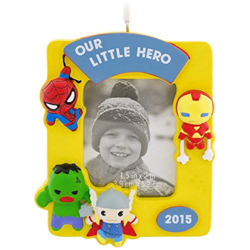 Hallmark Superhero Photo Frame Christmas Ornament