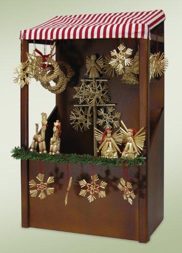 Christmas Market Stall Figurine