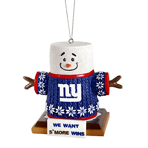 2015 NFL Football Team Logo Smores Holiday Tree Ornament – Pick Team (New York Giants)