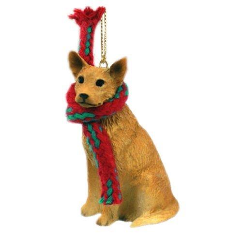Australian Cattle Dog Miniature Ornament – Red